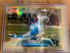 2013 Topps Chrome Steve Smith Gold /50 Refractor Panthers