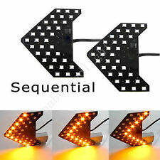 led Arrow light SMD Panel Rear View Sequential Side Mirror Signal turn bulb 2pcs