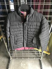 Men's Scotch & Soda Mid Season Jacket Primaloft Quilted Black Puffer XL