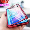 360° Full Cover Case + Tempered Glass For Xiaomi Redmi K20 Note 7 6 5 Pro 6A 4X