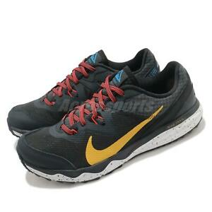 Nike Juniper Trail Black Yellow Men Running Jogging Sports Shoes CW3808-005