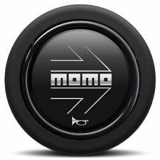 New MOMO Steering Wheel Horn Button Black / Silver