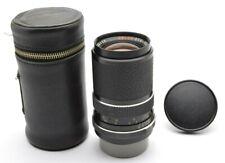 Voigtländer Color-Dynarex 4 / 135 mm Objektiv Lens Rollei QBM Mount + Case l43