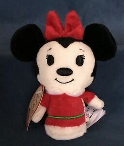 Hallmark Disney Minnie Mouse Itty Bittys Limited Edition 2013 Minnie Claus NEW