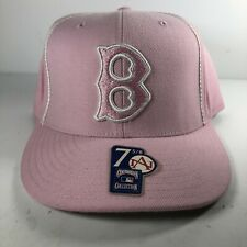 Boston Red Sox Pink Authentic Fitted Cooperstown Collection 7 5/8 Baseball Hat