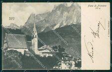Trento Fiera di Primiero Rosetta cartolina VK0570