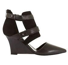 Mint Velvet Fergie Slim Wedges Black UK 3 EU 36 LN22 61