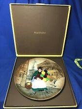 Royal Doulton china Balloon Seller pattern collector's plate with original box