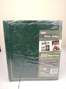 Pioneer LM-100 Binder Magnetic 3-ring Photo Album 100 Magnetic Pages - Black