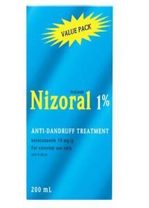 New 200ml Nizoral Anti-Dandruff Treatment 1% Shampoo Scalp Care Hair Care