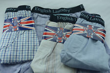 4 Pack ENGLISH LAUNDRY Large Boxer Shorts Underwear L 29-32 100% Cotton NWT jj