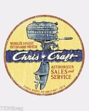 Chris-Craft Owens Wooden Boats Custom Tee Shirt Shirts from Vintage ads outboard