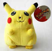 "RARE 2000 POKEMON PIKACHU PLUSH TOY 16CM/6.5"" OFFICIAL NINTENDO PLAY BY PLAY NEW"