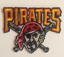 "Pittsburgh Pirates MLB Patch / Crest  3.1""x/.5"" inch Iron On"