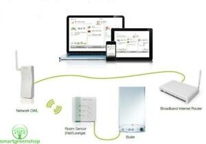 OWL Intuition-c Central Heating Control System (Controls Your Heating by Phone)
