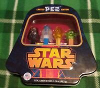 Star Wars Limited Edition PEZ Set And Darth Vader Collectible Tin 1.74oz