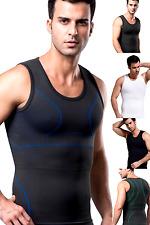 UK Body Stomach Flattening Underwear for Men Gym Training Compression Vest Tank