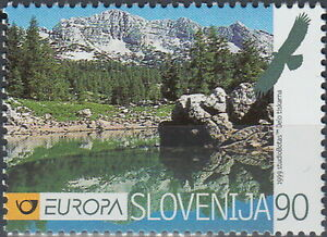 Slovenia Europa Nature Reserves & Parks 1999 MNH-3,50 Euro