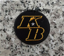 KB Los Angeles Lakers Kobe Bryant Commemorative Patch sew on embroidery Aufnäher