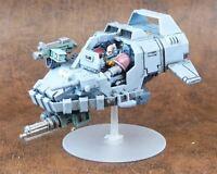 Land Speeder - Space Wolves  - Painted - Warhammer 40k #C3