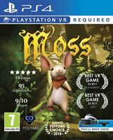 Moss VR [Sony PlayStation 4 PS4 PSVR Action Adventure VR Puzzle Quill] NEW