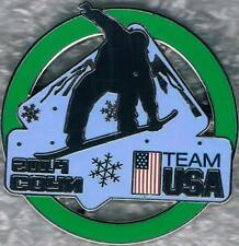 2014 Sochi USA Olympic Snowboard Team Pin New In Package