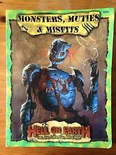 Monsters, Muties & Misfits | Deadlands: Hell on Earth | Pinnacle | PEG6011