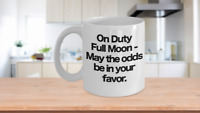 Night Shift Nurses Vet Tech Coffee Mug Funny Gift for Late Night Workers Medical