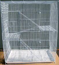 NEW Large 4 level Ferret Chinchilla Sugar Glider Mice Rat Cage 404 White 658