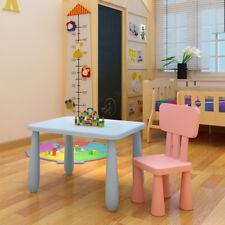 Kindertisch Kinder Schreibtisch Kindermöbel Kinder Tisch PP Möbel Blau MI 06
