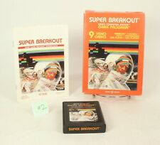 Vintage Boxed Atari 2600 game Super Breakout Tested & Working @