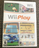 Wii Play Complete In Case With Manual Book Nintendo Wii System Game Nes Tested