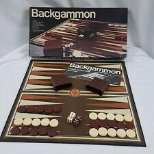 Backgammon Board Game Pressman Family Game Missing One Die