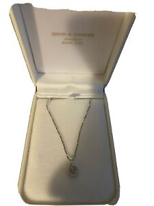 Hood And Hoover Necklace 14 Karat Gold Chain 20inches