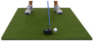 3' X 5' Club Turf Golf Driving Range Chipping Mat Practice Hitting Tee Equipment