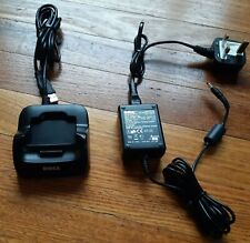 Dell Axim X51 X51v PDA Charging Dock & Official DELL Adapter Power Supply