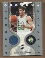 2006-07 Upper Deck Ovation Apparel #WS Wally Szczerbiak Jersey