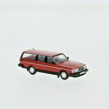 Brekina PCX870008 Volvo 240 GL Kombi rot, 1989, H0, Neu 2020