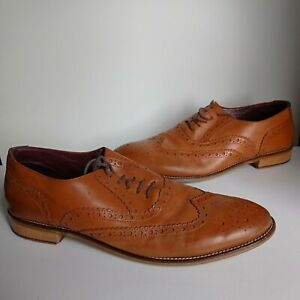 London Brogues Handcrafted Gatsby Mens Brogues Uk 10
