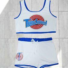 Tune Squad lola bunny top & Shorts Sets cosplay Basketball jersey Halloween Sets