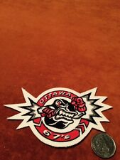 Ottawa 67's OHL Small Stitched Hockey Shoulder Crest Patch 3 by 5 inches