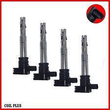 4 x Ignition Coil Audi A3,4,5,6,8 Q3,5 S3 TT, Skoda Octavia,Superb VW Golf Jetta