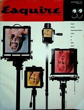 Esquire Magazine September 1957 CIA Ezra Pound Joanne Woodward Richard Avedon