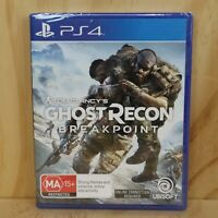 Sony Playstation 4 PS4 Game - Tom Clancy's Ghost Recon Breakpoint - New + Sealed