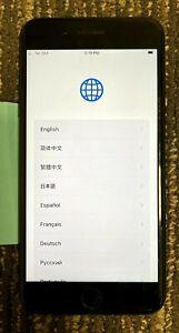 Apple iPhone 7 PLUS 128GB Black - SIM Data Network Issue - Read Description