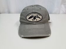 Distressed DUCK COMMANDER Adjustable Strapback Hat/Cap HUNTING Arise, Kill, Eat