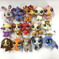 Random Lot 15pcs Original LPS Littlest Pet Shop Figures Kids Toy Gift no repeat