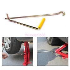 Car SUV Steel Tire Wheel Lug Wrench Scissor Jack Crank Speed Handle Lift Tool x1