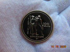 CANADA 1976 Gold 100 Dollars Olympic Games