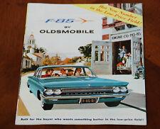 Oldsmobile F-85 sales brochure Prospekt, 1961